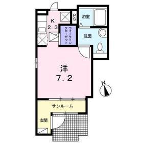 レメゾンS21階Fの間取り画像