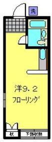 新川崎駅 徒歩9分1階Fの間取り画像
