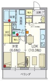 (シニア限定)アルモニーレジダンス氷川台3階Fの間取り画像
