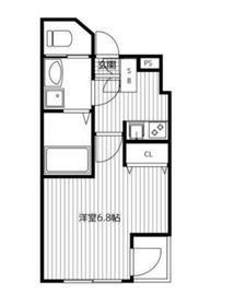 ラ・グルーラ4階Fの間取り画像