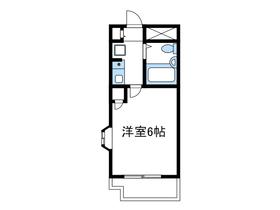 日神パレステージ小田急相模原4階Fの間取り画像