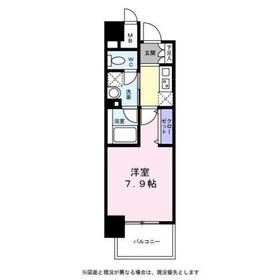 シャトー川崎3階Fの間取り画像