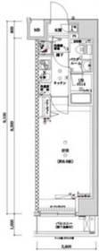 馬喰横山駅 徒歩2分7階Fの間取り画像