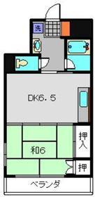 メゾンウィスタリアⅢ3階Fの間取り画像