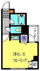 ゼウス横浜3階Fの間取り画像