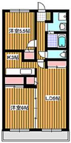 地下鉄成増駅 徒歩7分1階Fの間取り画像