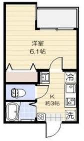 駒込駅 徒歩15分1階Fの間取り画像