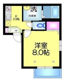 ヘーベルメゾン新千葉春陽荘1階Fの間取り画像