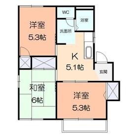湘南台駅 徒歩14分1階Fの間取り画像