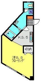 アグリファームズ1階Fの間取り画像