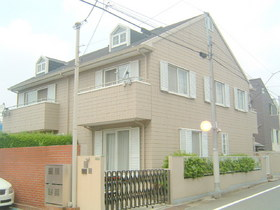 上野毛テラスハウスの外観画像