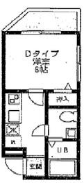 MK武蔵小杉2階Fの間取り画像