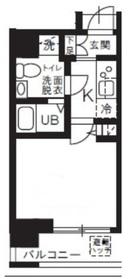 仮称)新横浜マンション11階Fの間取り画像