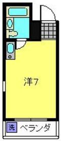 中野第2ビル2階Fの間取り画像