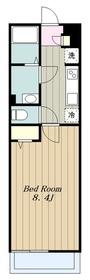 リブリ・モアアリエッタ3階Fの間取り画像
