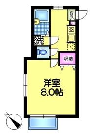 Heim M3-22階Fの間取り画像