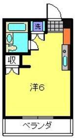 ビケンアーバンス1階Fの間取り画像
