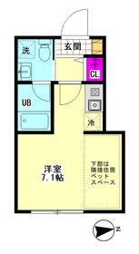 Aix羽田 102号室