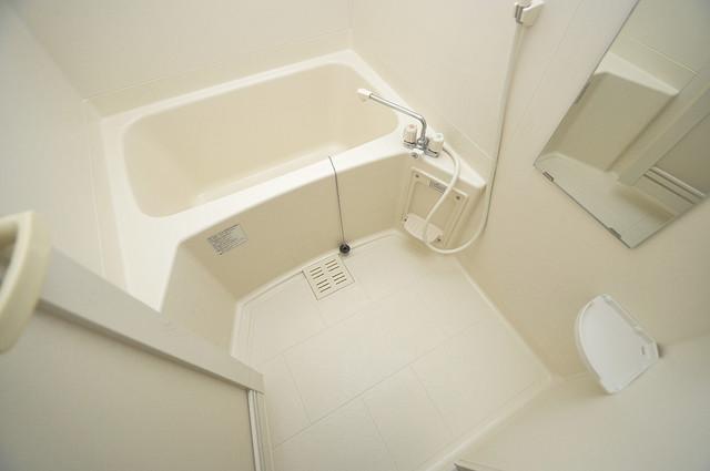 フジパレス フォンターナⅡ番館 機能的なバスルームはトイレと別々なので、広々としていますよ。