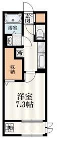 S-HEIM2階Fの間取り画像