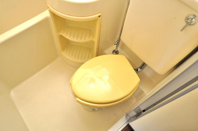 ハイグレード巽 清潔感のある爽やかなトイレ。誰もがリラックスできる空間です。
