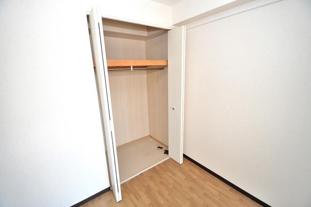 レシェンテオクノ もちろん収納スペースも確保。いたれりつくせりのお部屋です。
