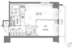 フェニックス横濱関内BAY MARKS9階Fの間取り画像
