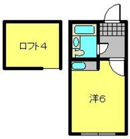 プラザドゥエリーゼB2階Fの間取り画像
