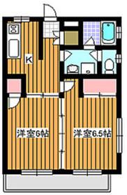 地下鉄赤塚駅 徒歩7分3階Fの間取り画像