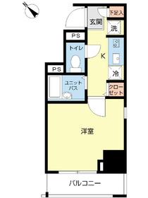 スカイコート本郷東大前弐番館3階Fの間取り画像