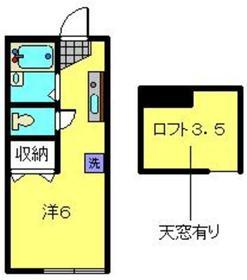 ブリオ横浜Ⅰ1階Fの間取り画像