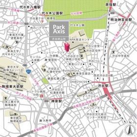 パークアクシス渋谷神山町案内図