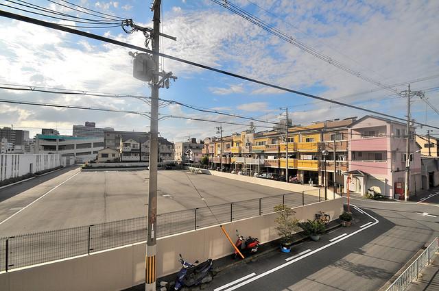 長栄寺第5コープ この見晴らしが日当たりのイイお部屋を作ってます。