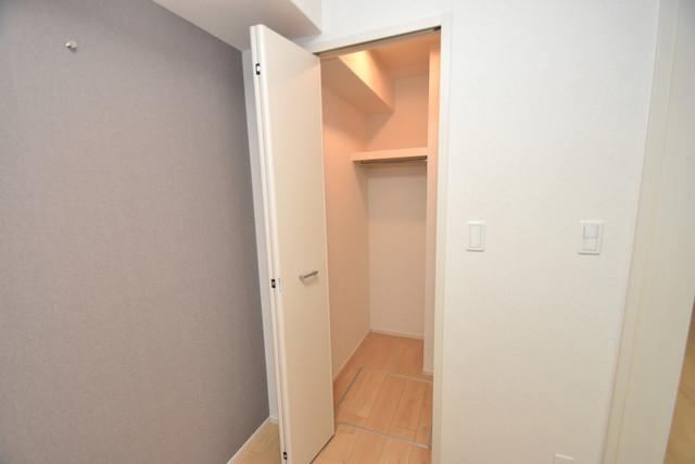 リジエールⅡ 人気のWICです。広々とお部屋が使えますね。