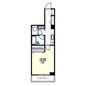 アンビシャス21大船3階Fの間取り画像