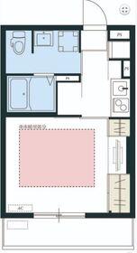 リブリ・ビラ二俣川1階Fの間取り画像