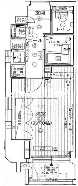 エステムプラザ丸ノ内ノースライズ間取図