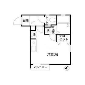 武蔵小山駅 徒歩5分2階Fの間取り画像