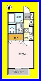 サンモール・N1階Fの間取り画像