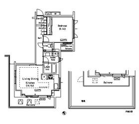 代官山駅 徒歩5分3階Fの間取り画像