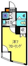 日吉駅 徒歩11分2階Fの間取り画像