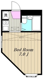 アパートメント悠1階Fの間取り画像