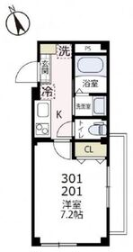 イストリア・ケー3階Fの間取り画像