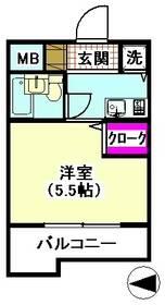 メゾンド ナイルス 206号室