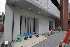 プレミアムキューブ品川大崎エントランス