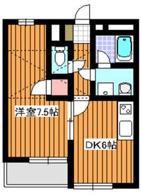 朝霞駅 徒歩25分1階Fの間取り画像