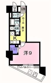 宿河原駅 徒歩18分5階Fの間取り画像