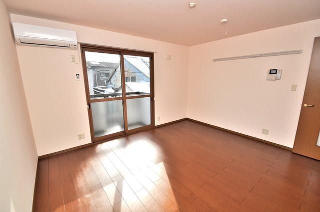 サンハイツ横沼 解放感たっぷりで陽当たりもとても良いそんな贅沢なお部屋です。