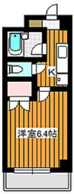 地下鉄赤塚駅 徒歩6分2階Fの間取り画像