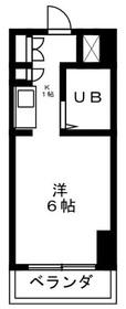 ライオンズマンション相模原Ⅷ6階Fの間取り画像